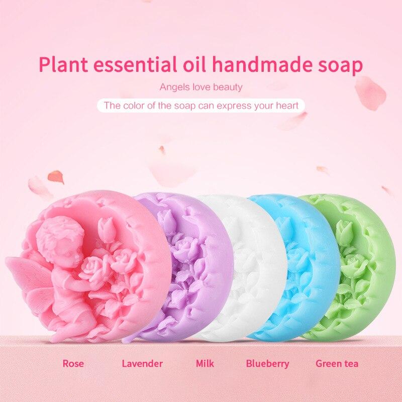Цветок экстракт мыло ручной работы увлажняющий не раздражающий эфирные масло мыло глубокий очищающий питательный мыло подарок TSLM1