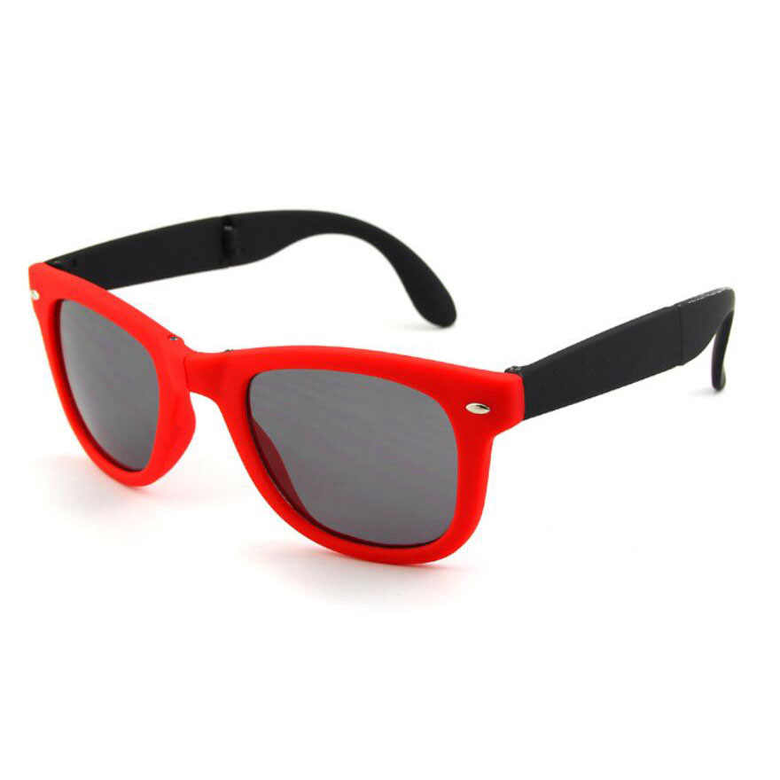 Eyewear Women Polarized Sunglasses Shades Fashion Wrap Retro Vinta Red Case
