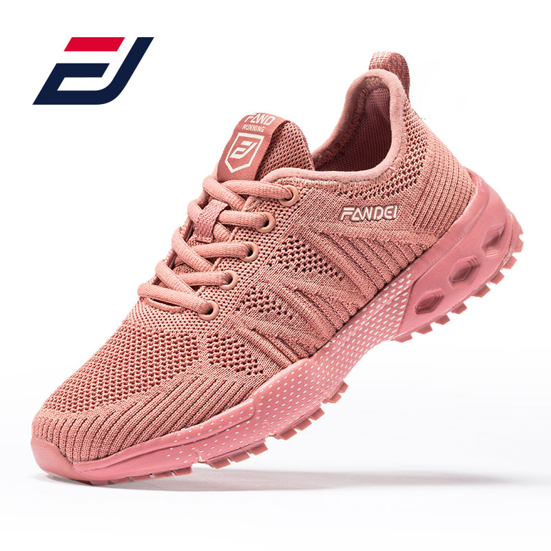 FANDEI Marathon Sport Shoes Woman Light Running Shoes Women Outdoor Sneakers Lace Up Deportivas Mujer Walking Jogging Shoes