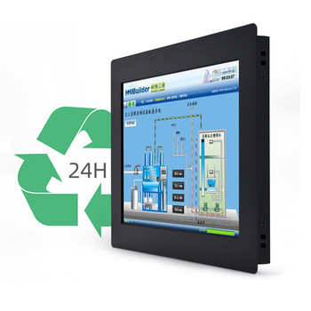 Metal case 10.1 inch LCD Industrial kiosk information Projected Capacitive touch screen tablet all in one panel PC
