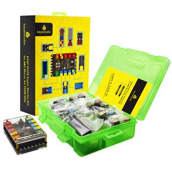 Zestaw mikrobitów Keyestudio Rj11 zestaw do nauki Super Starter dla BBC micro bit STEM EDU (bez mikro płytka bitowa bez baterii) tanie i dobre opinie Microbit Basic Starter Kit BBC micro bit CN (pochodzenie) 230X164X60mm 608g