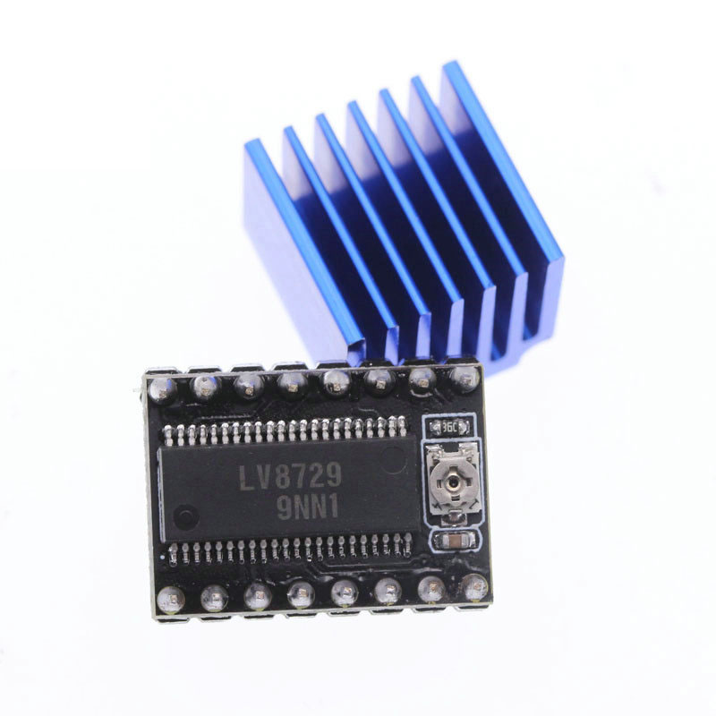 LV8729 Stepper Motor Driver 4-layer Substrate Ultra Quiet Driver LV8729 Driver Support 6V-36V Full Microstep Driver Controll