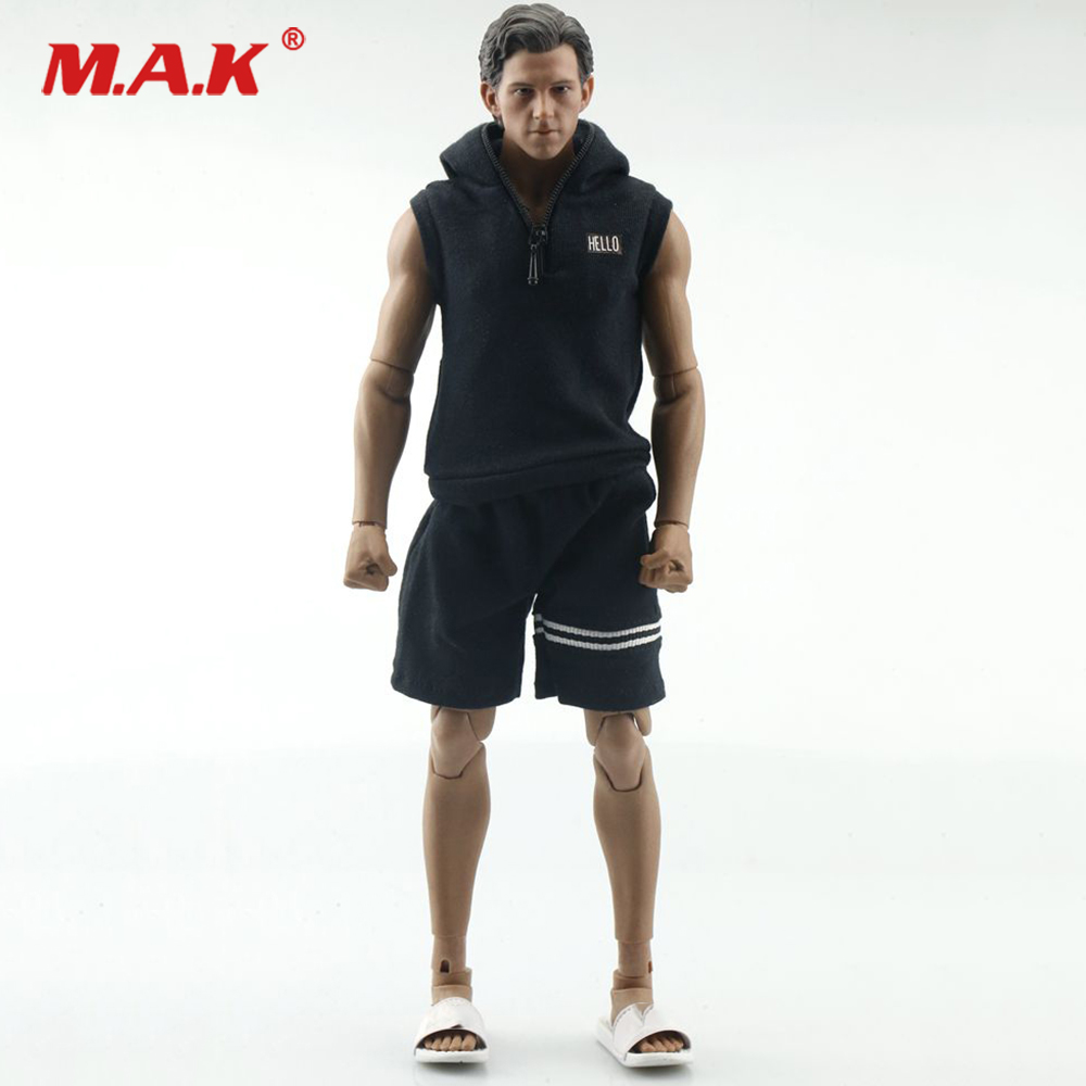 """Toy Center 1//12 Male Figure Vest Shorts Sport Clothes Model for 6/"""" Action Body"""