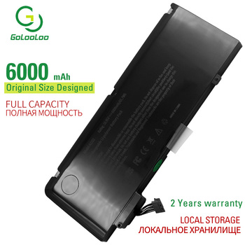 Golooloo 6000mAh 10.95V New laptop battery for Apple macbook pro 13 A1322 A1278 mid 2009 2010 2011 2012 mb990ll/a mb991ll/a apexway a1322 6000mah laptop battery for apple macbook pro 13 a1278 mid 2009 2010 2011 2012 mb990ll a mb991ll a