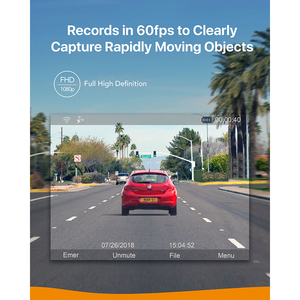 Image 4 - Anker Roav Dash Cam S1, 소니 센서가 장착 된 대시 보드 카메라, Full HD 1080p, 나이트 호크 비전, 내장 GPS, 와이파이 및 광각 렌즈