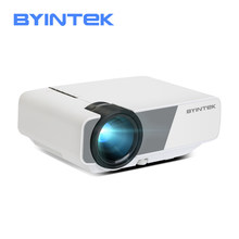 Mini Projector BYINTEK SKY K1/K1plus LED Portable Home Theater HD (Optional Wired Sync Display For Iphone Ipad Phone Tablet)(China)