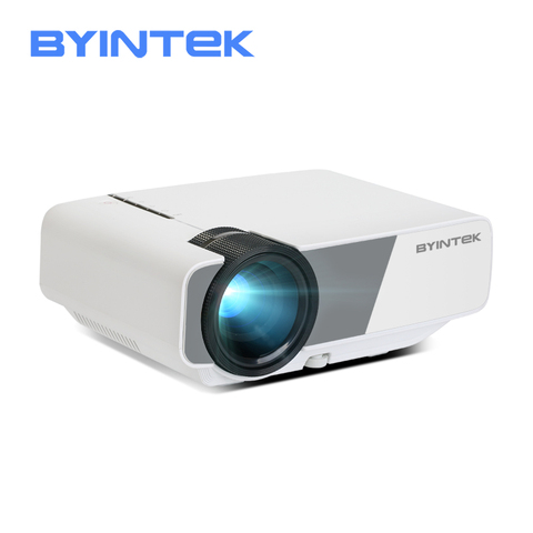Mini Projector BYINTEK SKY K1/K1plus LED Portable Home Theater HD (Optional Wired Sync Display For Iphone Ipad Phone Tablet) Pakistan