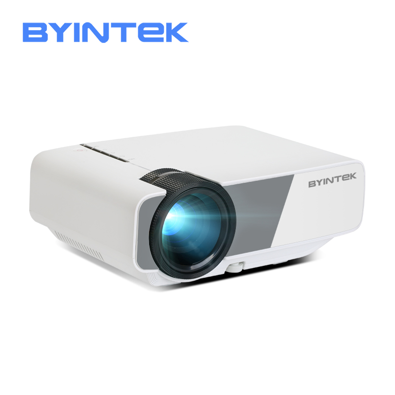 Mini Projector BYINTEK SKY K1/K1plus LED Portable Home Theater HD (Optional Wired Sync Display For Iphone Ipad Phone Tablet)
