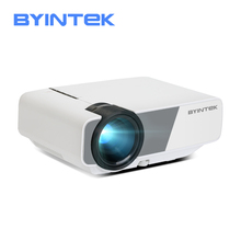 Mini Projector, BYINTEK K1plus LED Portable Home Theater HD Wired Sync Display F