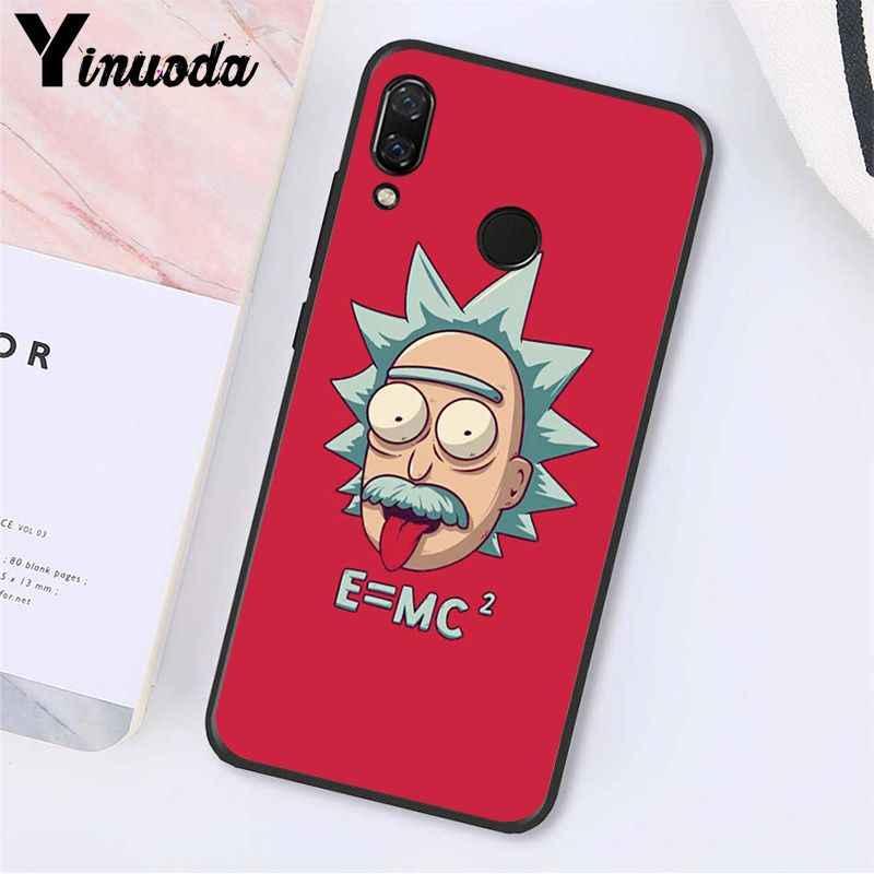 Yinuoda Kartun Komik Rick dan Morty Phone Case untuk Xiaomi Redmi Note 7 5 4 Redmi 5 Plus 6A note8 4X Note8Pro
