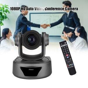 Image 5 - Aibecy Video konferans kamerası 3X isteğe bağlı Zoom kamera kamerası Full HD 1080P desteği 95 derece geniş görüş otomatik USB uzaktan kontrol