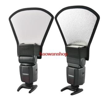 silver/white Light Reflector diffuser softbox for YONGNUO YN-460/560 II/565/568EX flash image