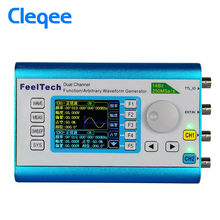 цена на FY2300H 60MHz High Frequency DDS Signal Generator 250MSa/s 100MHz Frequency Meter Arbitrary Waveform Dual Channel