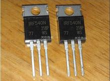 Free shipping 100PCS IRF540NPBF IRF540N TO 220 100V 33A TO 220