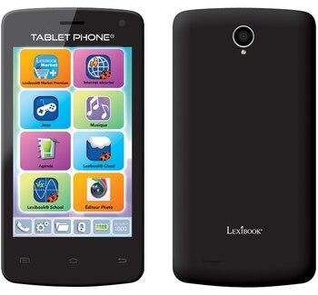 Перейти на Алиэкспресс и купить Lexibook MFS100FR 10,2 см (4 дюйм) 0,5 ГБ 4 ГБ Dual SIM черный 1500 мАч