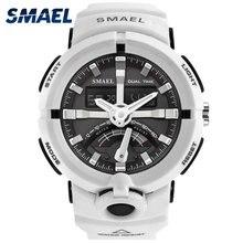 SMAEL Fashion Sport Watch Men Top Brand Luxury Famous Waterproof LED Digital Wrist S Shock Male Clock For Man Relogio