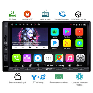 Image 1 - [NEUE] ATOTO A6 Doppel din Android Auto GPS Navigation Stereo Player/Dual Bluetooth/A6Y2710SB 1G/16G Unterhaltung Multimedia Radio
