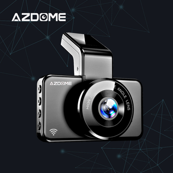 AZDOME M17 Dash Cam Full HD 1080P Video Recorder 170 Degree Dashcam Night Vision G-Sensor Car Camera 24H Parking Dash Camera dash camera junsun h9p