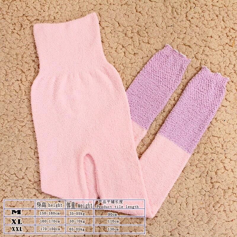 Теплые штаны из микрофибры, эластичные брюки для женщин, сохраняющие тепло, домашние штаны в физиологический период для увеличения - Цвет: FL
