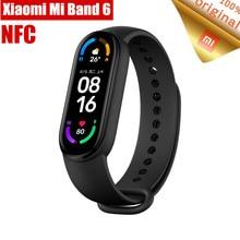 Предпродажа умный Браслет Xiaomi Mi Band 6 NFC умный Браслет 1,56