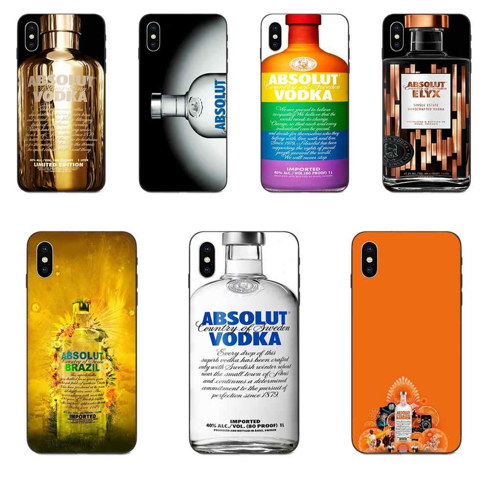 Una botella de Vodka lindo teléfono casos para Apple iPhone 4 4S 5 5S SE 6 6S 7 8 Plus X XS X Max XR