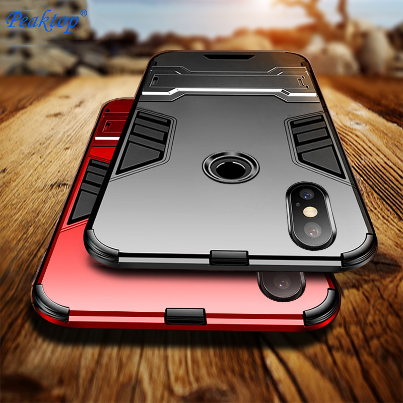 Armor Stand Cover Case For Samsung Galaxy S9 S8 S7 S5 S6 Edge Plus Note 9 8 5 4 Case J8 2018 J6 J7 2017 2016 Prime Max Duo Bags image
