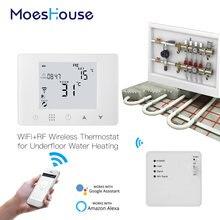 Wifi умный термостат настенный водное Подпольное Отопление температурный