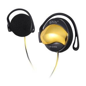 Проводные наушники 3,5 мм, наушники с крючком, наушники с регулятором громкости, супер бас, музыкальная гарнитура с микрофоном для mp3-плеера ...