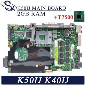 KEFU Laptop Mainboard K40AB K40IN K50IJ K50AF for ASUS K60ij/X5dij/P81ij/.. 2G-RAM
