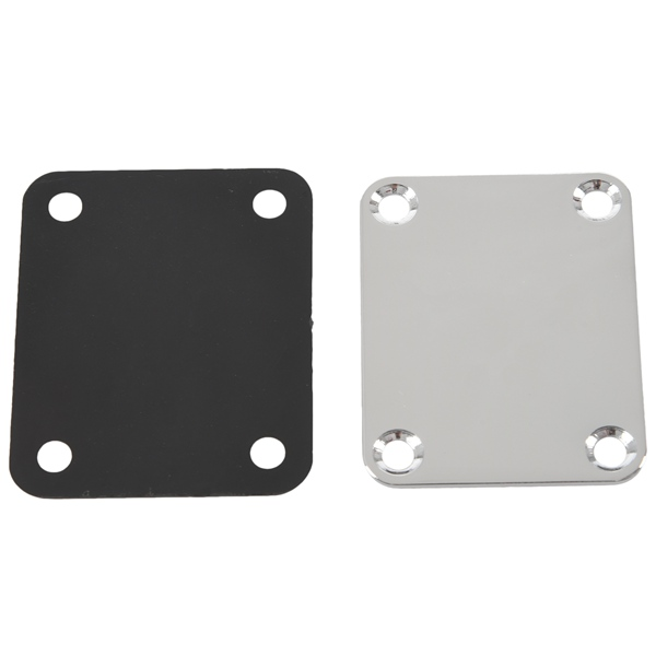 Electric Guitar Neck Plate Neck Plate Fix  Guitar Neck Joint Board - Including Screws