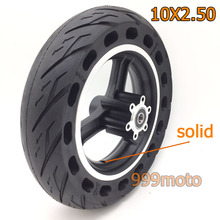 10x2.50 solid Wheel Tyres Solid Tyre non-Inflation Electric Scooter Tires for 10 inch Accessory