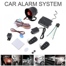 Universal 12V Auto Car Alarm Security Sy
