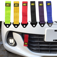 Buy 26cm Towing Rope High Strength Nylon trailer Tow Ropes Racing Car Universal Tow Eye Strap Tow Strap Bumper Trailer directly from merchant!