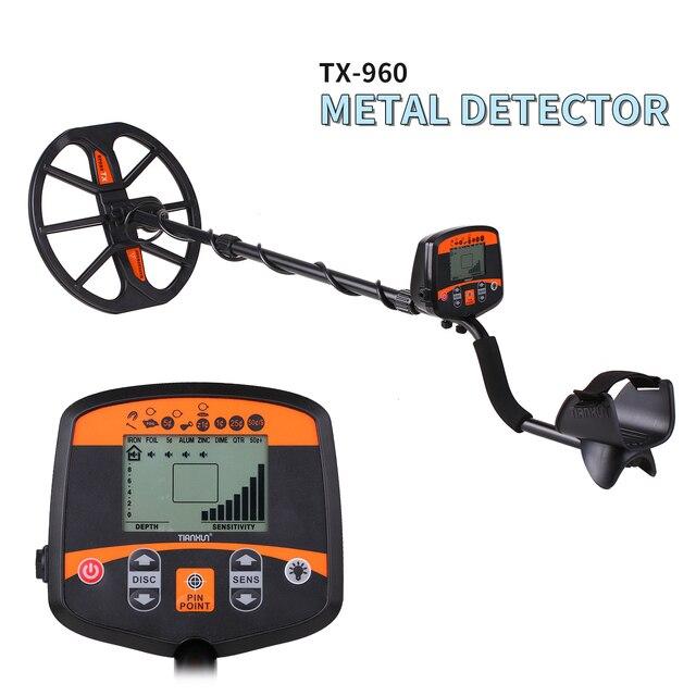 TIANXUN TX 960 地下金属探知アンダーグラウンドゴールド銀の検出器スタッドファインダージュエリーディガートレジャーハンター