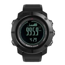 Buy HobbyLane Altimeter Barometer Compass Men Digital Watches Sports Running Clock Climbing Hiking Wristwatches Waterproof 50M directly from merchant!