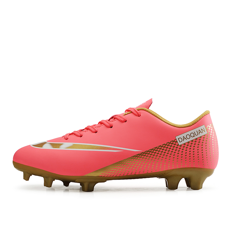 Large Size Long Spikes Soccer Shoes Outdoor Training Football Boots Sneakers Ultralight Non-Slip Sport Turf Soccer Cleats Unisex 13