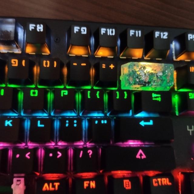 Фото 1 шт 2u ручной работы заказной oem r4 полимерный keycap клавиатура цена