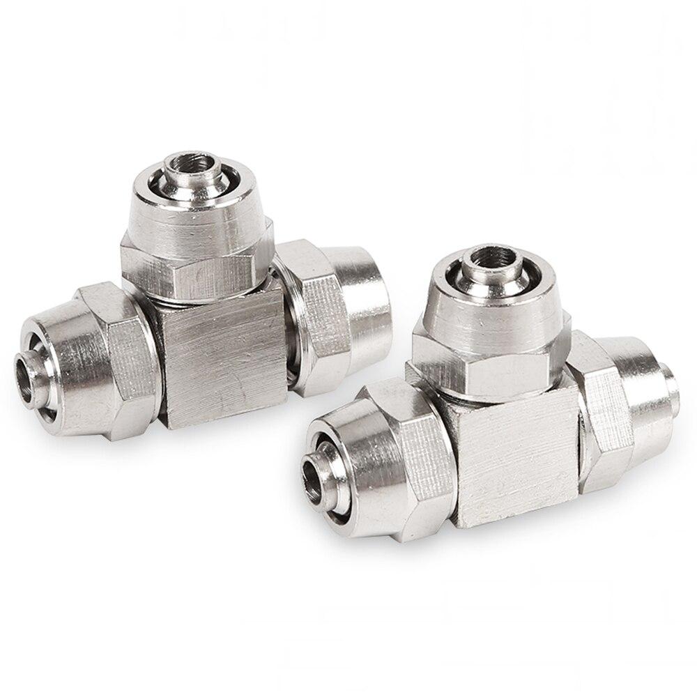 """Empuje para conectar adaptador del tubo Adaptador Od 10mm X G3//8/"""" Hembra 4 un."""