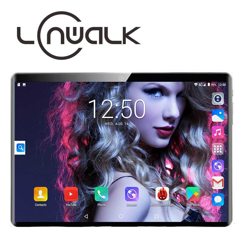 Ücretsiz kargo Android 9.0 dört çekirdekli 10 inç Tablet PC 2GB RAM 64GB ROM 5MP WIFI A-GPS 4G LTE 2.5D temperli cam IPS 1280*800