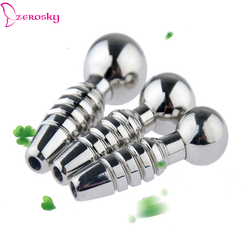 Stainless Steel Urethral Plug Sex Toys For Men Male Masturbator Urethra Sound Stopper Sex Shop Cathreter Dilator