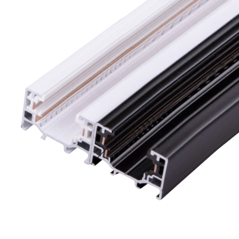 Track Light Rail For Track Lamp Fitting Aluminum+Copper 0.5meter 3 Wire Connector System Tracks Fixture Universal Rails
