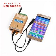 LC2000A/B Wi-Fi музыкальный SPI контроль светодиодный цифровой пиксельный светильник, светодиодный контроллер экрана 1024-2048 пикселей, со встроенным микрофоном