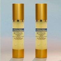 New Retinol pure Vitamin A 2.5% Organic, Wrinkle Acne Cream Serum 4oz 120ml