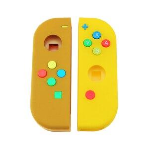 Image 3 - 1Set Vervanging Behuizing Shell Skin Case Voor Nintend Schakelaar Ns Vreugde Con Controller Groen Faceplate Cover Voor joycon