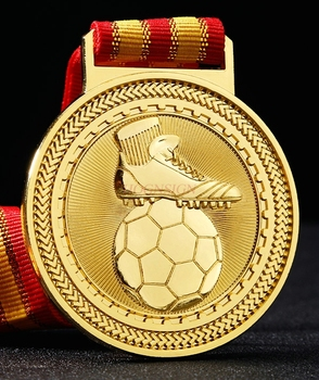 Golden Boot Awards Best Shooter Commemorative Metal Medal Listed Football Youth Soccer Game 2020