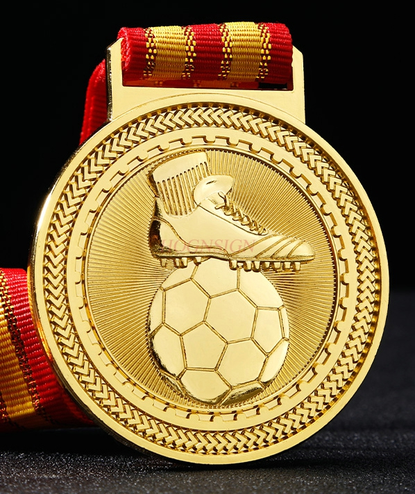Golden Boot Awards Best Shooter Commemorative Metal Medal Listed Football Medal Youth Soccer Game