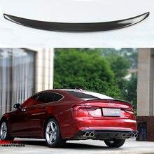 S5 Стиль карбоновый спойлер заднего багажника крыла пригодный