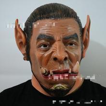 Cos Ogrim Mask Around World Movies Guldan Wizard Halloween Props Latex Toy Unisex Horror