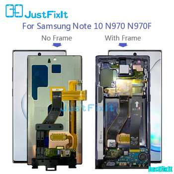 For Samsung Galaxy Note 10 Lcd with Frame Display Touch Screen Digitizer Assembly Note10 N970F N9700 N970 Original Super amoled - DISCOUNT ITEM  5% OFF All Category