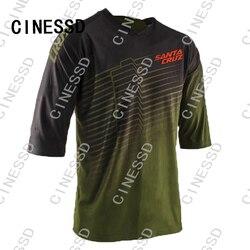 2021 Men's Downhill Jerseys Short sleeve MTB fox Mountain Bike Shirts Offroad DH Motorcycle Jersey Motocross Sportwear FXR bike